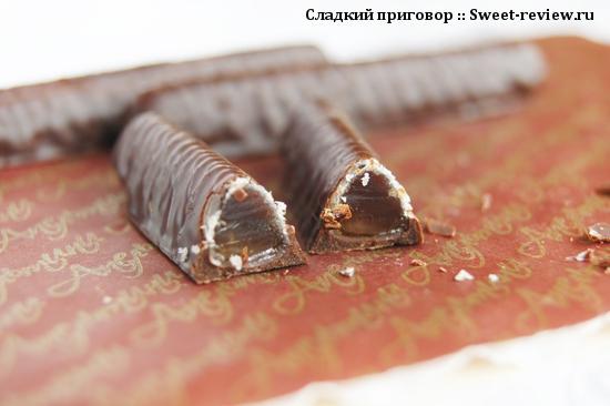 "Мармелад в шоколаде ""Апельтини"" (фабрика ""Ударница"", Москва)"