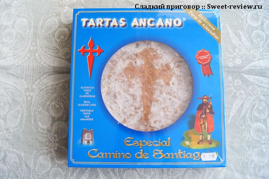 Сантьягский (галисийский) пирог