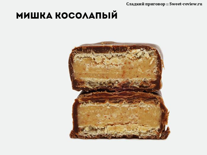 """Конфеты """"Мишка косолапый"""" (фабрика """"Красный Октябрь"""", Москва)"""