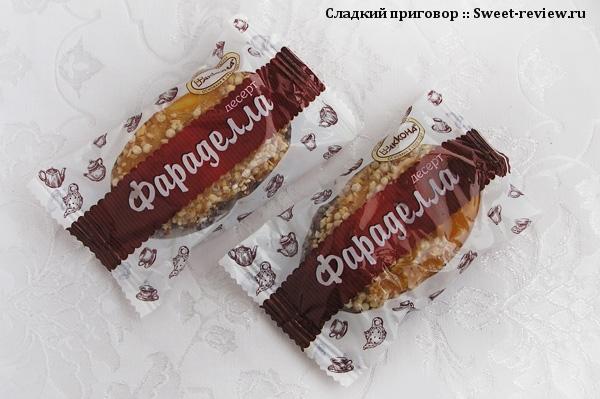 """Десерт """"Фараделла"""" (фабрика """"Акконд"""", Чебоксары)"""