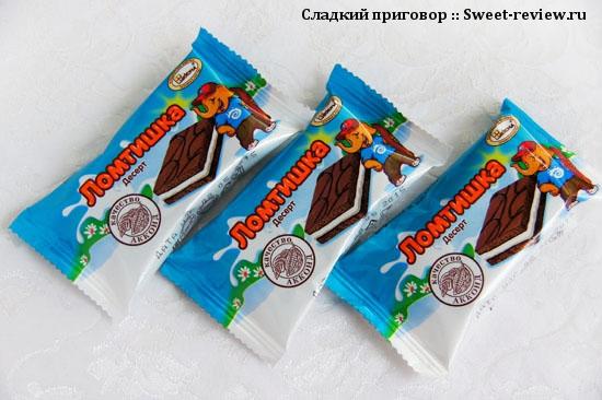 """Десерт """"Ломтишка"""" (фабрика """"Акконд"""", Чебоксары)"""