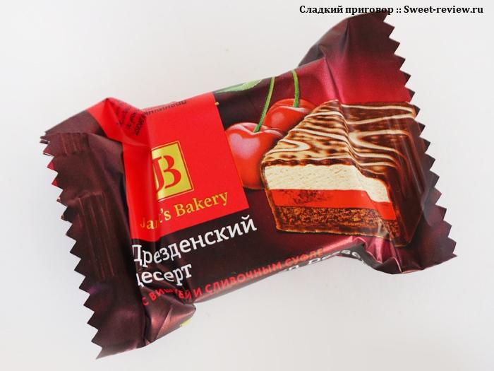 """Десерт Janet's Bakery (фабрика """"Славянка"""", Белгородская обл.)"""