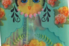 "Фантик конфеты ""Слатушонина"" (фабрика ""АтАг"", Вологодская область)"