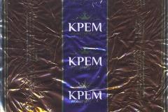 """Фантик конфеты """"Крем трюфель"""" (Пермская фабрика, Пермь)"""