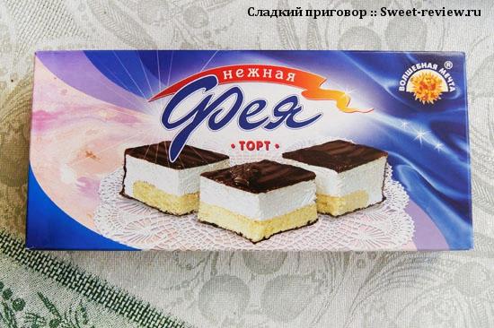 """Торт """"Фея"""" (Хлебозавод №28, Московская область)"""