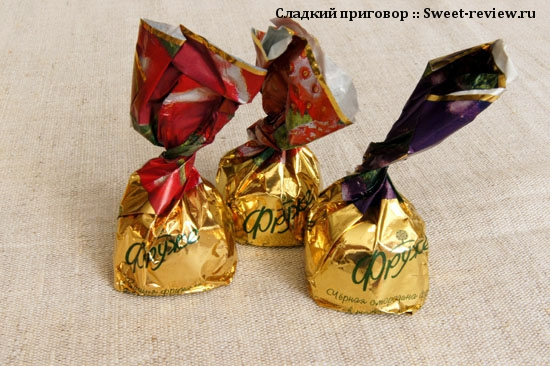 """Конфеты """"Фруже"""" (""""Натуральный продукт"""", Калужская область)"""
