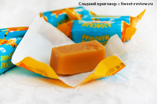 "Конфеты ""Азовская молочная"" (Азовская фабрика, Азов)"