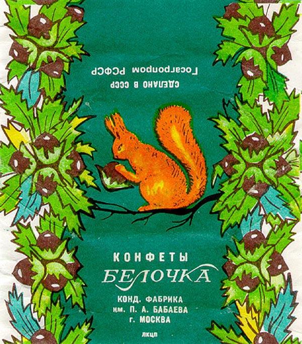 "Конфеты ""Белочка"" (концерн ""Бабаевский"", Москва)"