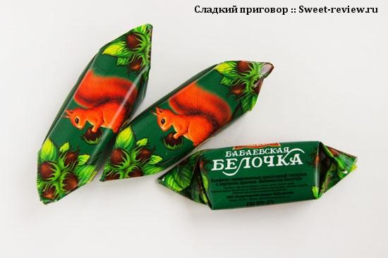 "ГОСТ советских конфет. ""Белочка"""