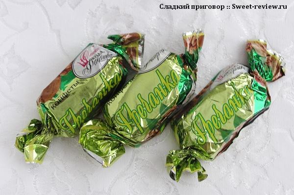 """Конфеты """"Гречанка"""" (Омская шоколадная фабрика, Омск)"""