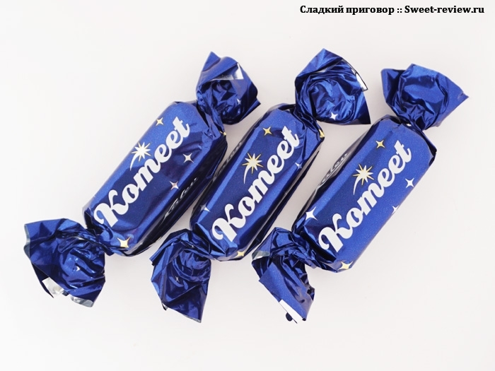 "Конфеты ""Комета"" / Komeet (фабрика Kalev, Эстония)"