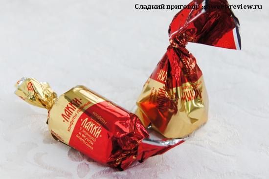 """Конфеты """"Лакки"""" (фабрика """"Сладуница"""", Омская область)"""