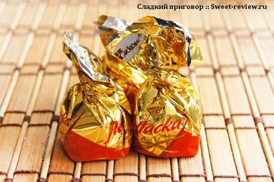 """Конфеты """"Ласка"""" (фабрика """"Акконд"""", Чебоксары)"""