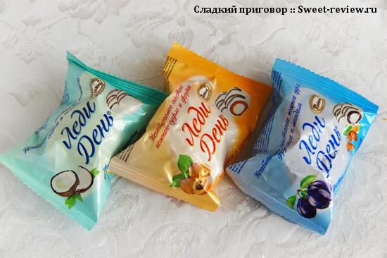 """Конфеты """"Леди День"""" (фабрика """"Акконд"""", Чебоксары)"""