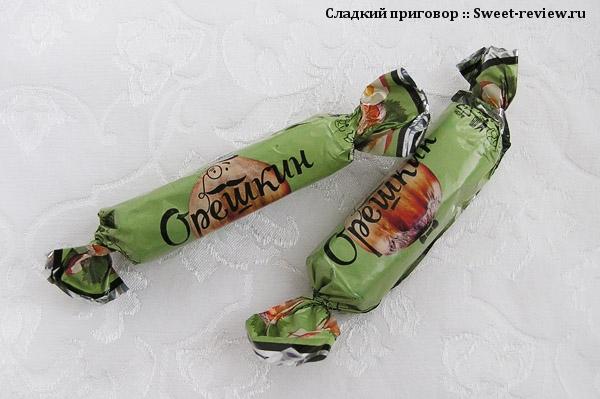 """Конфеты """"Орешкин"""" (Пермская фабрика, Пермь)"""