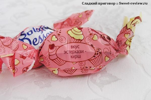 """Конфеты """"Souffle Dessert"""" (фабрика """"Конти"""", Курск)"""