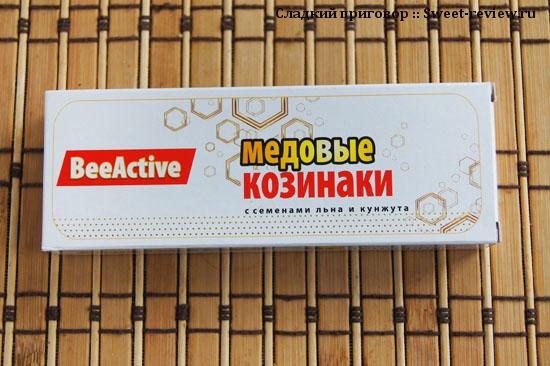 """Медовые козинаки """"Bee Active"""" (""""Тенториум"""", Пермь)"""