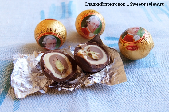 "Австрийские конфеты ""Mozartkugeln"""