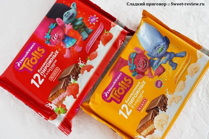 Пирожные в глазури («Makfa Dessert Collection», Московская область)