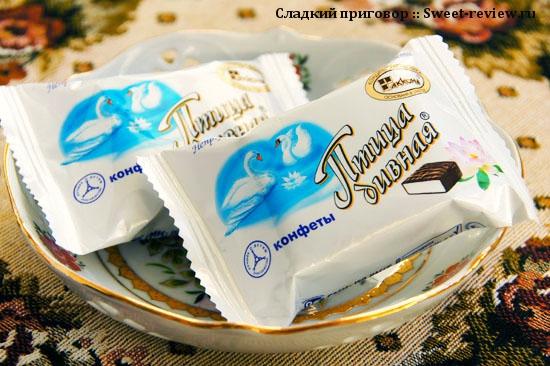 "Конфеты ""Птица дивная"" (фабрика ""Акконд"", Чебоксары)"