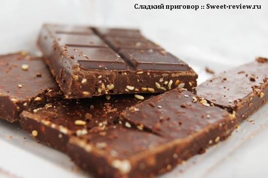 "Шоколад ""Бабаевский"" 55% какао (концерн ""Бабаевский"", Москва)"