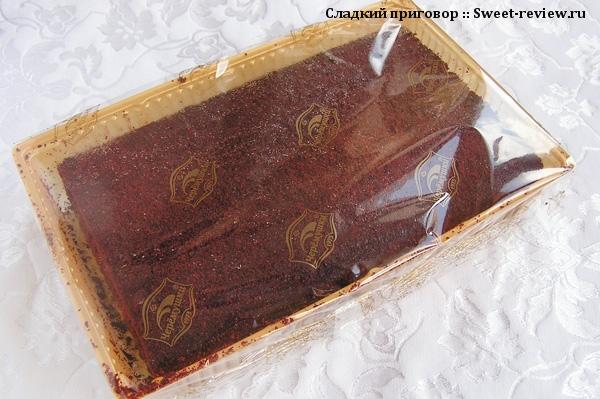 """Торт """"Малиновый вельвет"""" (КБК """"Черёмушки"""", Москва)"""