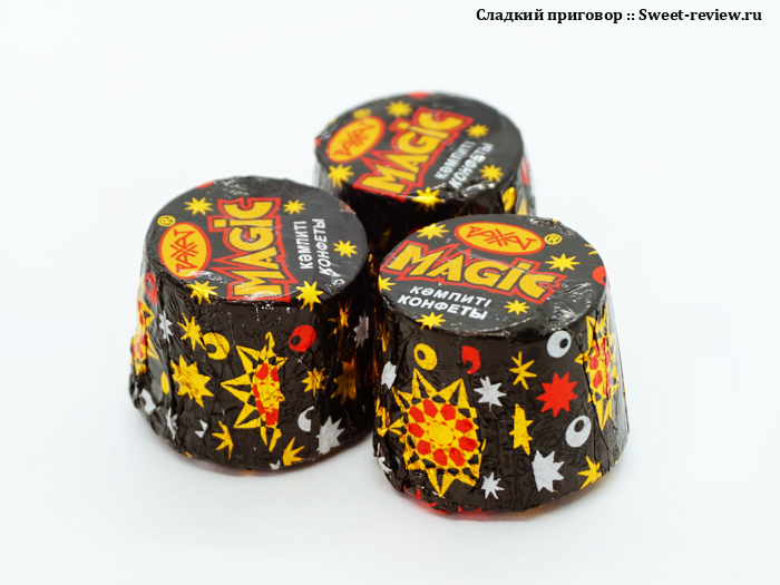 Конфеты Magic (фабрика Рахат, Казахстан)