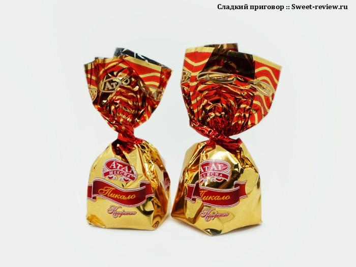 """Конфеты """"Пикало"""" (фабрика """"АтАг"""", Вологодская область)"""