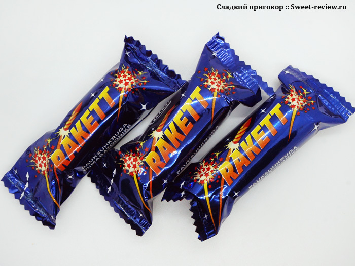 Конфеты Rakett (Kalev, Эстония)
