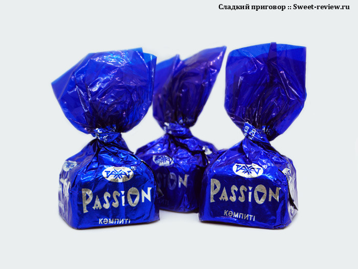 Конфеты Passion (фабрика Рахат, Казахстан)